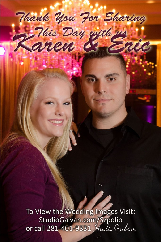 Image of Karen & Eric's Thank You Card